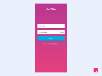 Skittles - Dribbble login