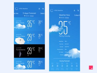 Skittles - Weather app