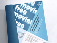 Ad Option for Milwaukee Film Program Book