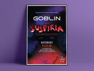 Suspira Poster horror movie suspiria poster print