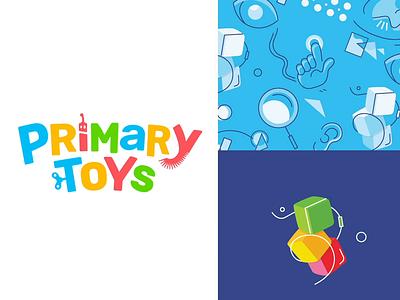 Primary Toys animation ui ux logo branding toydesign toys