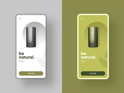 Be natural green tea product page mobile app concept ecommerce mobile web design product design uiux interface ux website ui inspiration creative graphic illustration