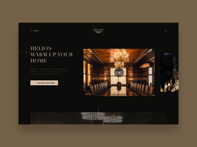 Chandeliers store concept lamp light chandeliers ux uiux interface mobile web design product design branding website ui inspiration creative graphic