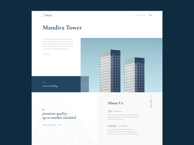 Concept website estate agency property realty minimalism mobile web design product design uiux interface ux website ui inspiration creative graphic rubynguyenart