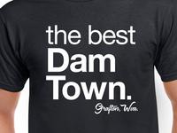 Best Dam Town Tee