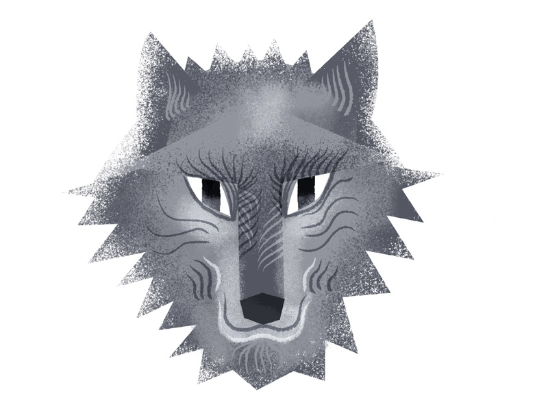 wolf wolves smile nose eyes grays gray pattern fur face avatar portrait wolf