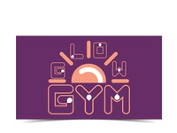 Glow GYM - Logo and Card