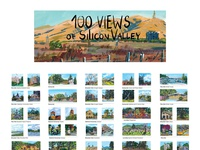 100 Views of Silicon Valley Poster