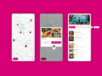 Van Map III design ui design app design ui figmadesign figma