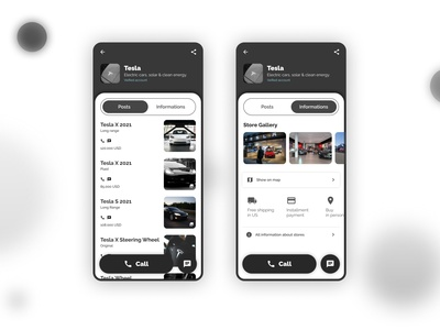 Classified Ads App - Store Page android app classified ads product design user experience ux ui