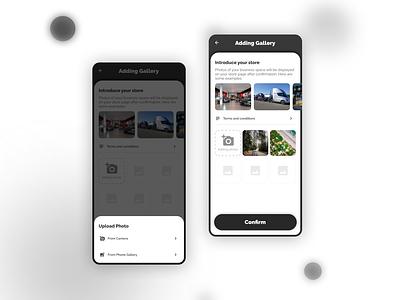 Classified Ads App - Choosing photo case study gallery classified ads product design ux desgin