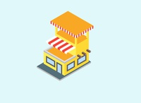 Home and Shop Isometric Design