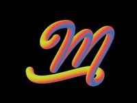 Alphabet - Letter M