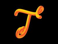 Alphabet - Letter T