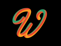 Alphabet - Letter W