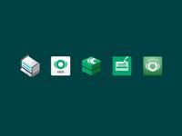 Software / App icon explorations
