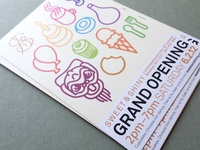 Grand Opening flier