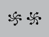 Spiral + Connection icon