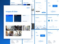 Behind the Design minimal design minimal website font logo company design system ux ui design