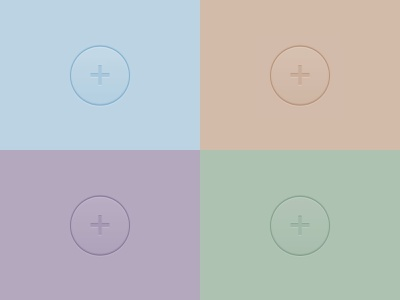 More CSS Buttons html css pastel skeumorphic buttons