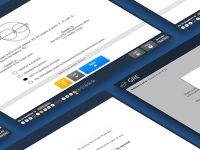 GRE Test Interface Redesign gre exam test desktop education