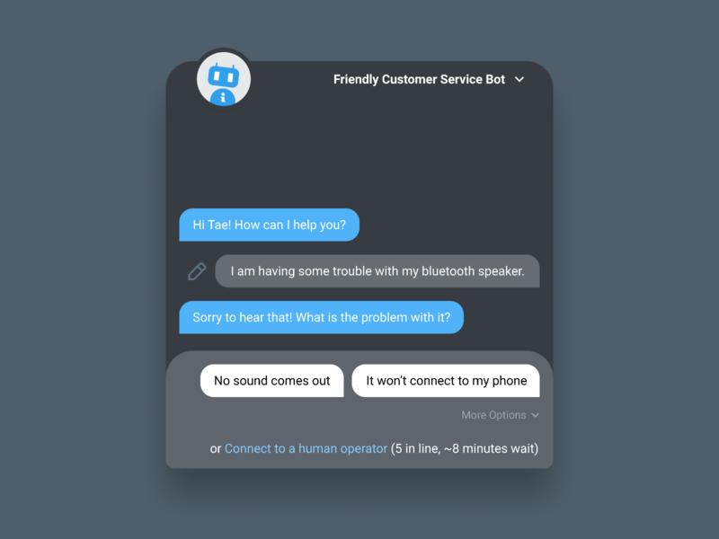 #DailyUI 013 - Direct Message customer service direct mail chatbot message dailyui 013 dailyui