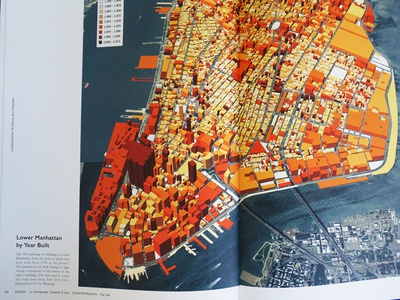 Lower Manhattan Buildings Visualized