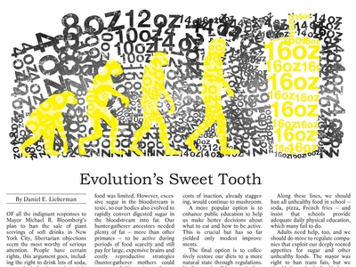 Evolution's Sweet Tooth