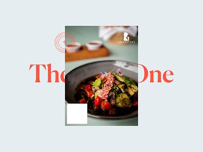 The Posh One Brand Exploration art direction brand identity food logo design branding