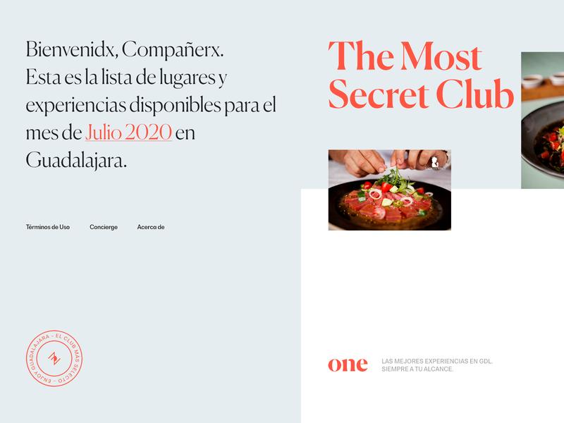 The Posh One Microsite, Exploration 02 website web design ui store secret club interface design food branding art direction