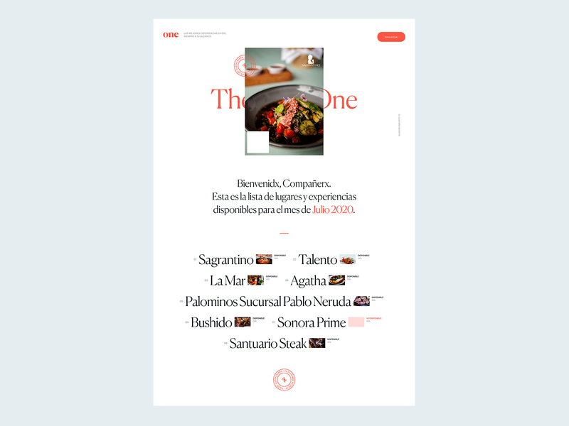 The Posh One Microsite, Main Page adobe xd web design ui store secret club interface design food app branding art direction