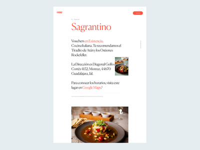 The Posh One Microsite, Place Profile art direction branding food app interface design secret club store ui web design adobe xd