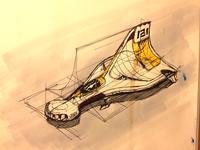 Scifi Aircraft Concept