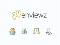 Enviewz Logo + 4some Icon Set