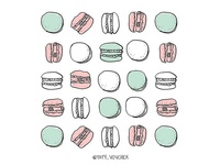Macarons and Patterns