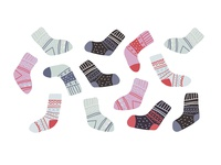 Cute winter socks collection