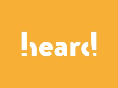 heard PR Brandmark logo identity marketing branding
