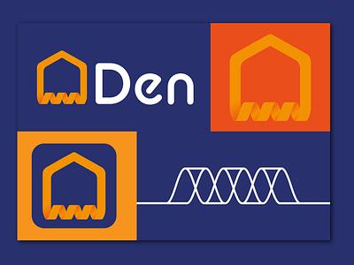 Den Eco-Energy Branding icon energy vector abstract logo branding