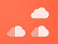 Soundcloud icon simplified