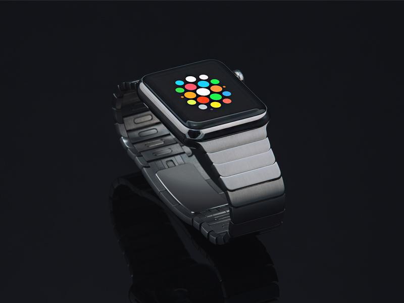 Apple Watch Mockup (PSD) resource template freebie free mockup watch apple watch