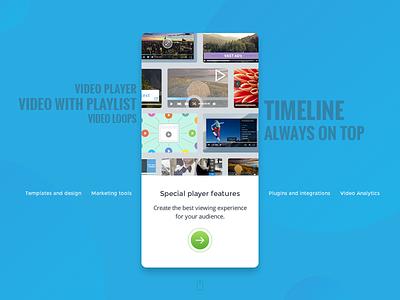 Cincopa Responsive Slider team blue tabs cards responsive slider cincopa
