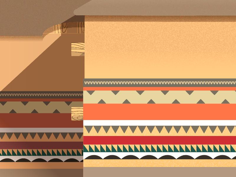 African Village - Illustration WIP