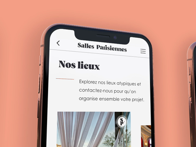 Responsive Event Website rotato explore natural language paris professional event booking places branding iphonex responsive event simple animation design
