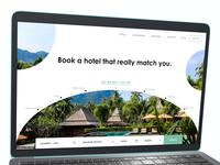 Landing Page - booking
