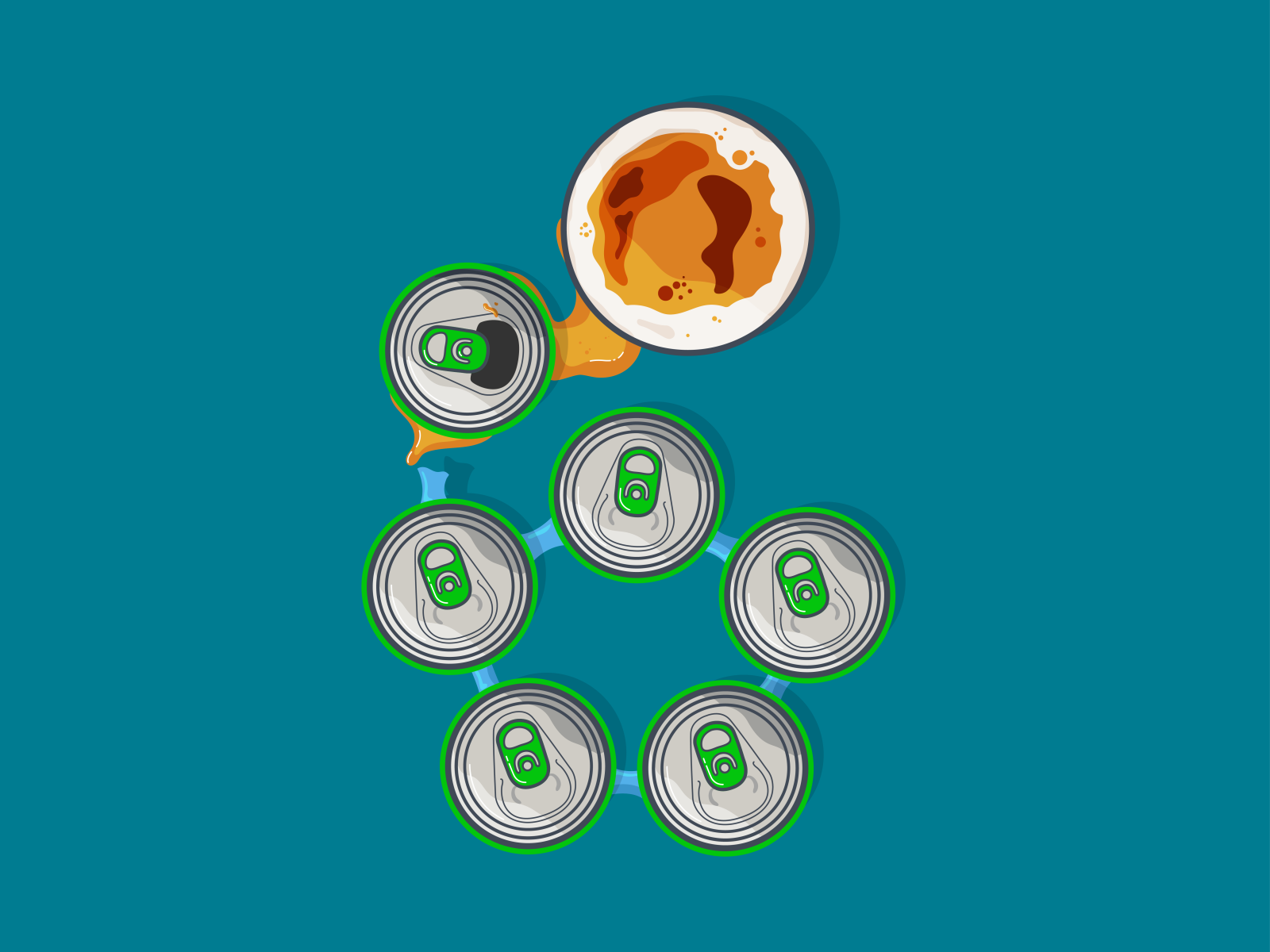 The Closest I Ll Ever Get To A Six Pack By Illustrobtion On Dribbble