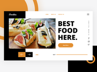Foodies Web Concept