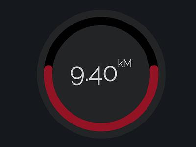 Temperature countdown ui dashboard ui ux design app deisgn temperature
