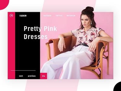 Fashion Web Concept fashion website fashion app ecommerce pretty design adobe illustrator adobe photoshop web  design ui  ux design ux design ui design