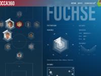 Dataviz for soccer desktop version