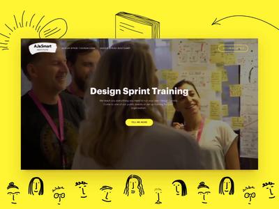 Design Sprint Training Homepage